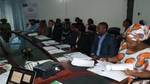 Meeting with Development Partners held at PGF Secretariat on Thursday, June 18, 2015